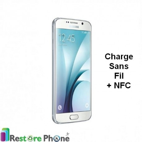 Reparation Nappe Charge Sans fil + NFC Galaxy S6 - Restore Phone