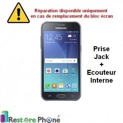 Reparation Ecouteur Interne + Prise Jack Galaxy J2