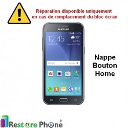 Reparation Nappe Bouton Home Galaxy J2
