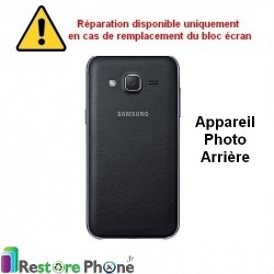 Reparation Appareil Photo Arriere Galaxy J2