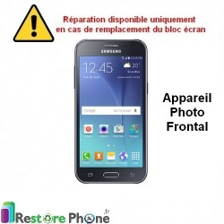 Reparation Appareil Photo Frontal Galaxy J2