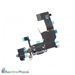 Nappe Connecteur de Charge + Micro + Antenne Iphone 5