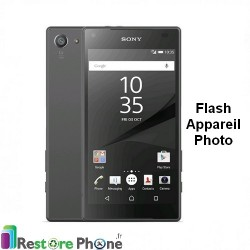 Reparation nappe flash appareil photo Xperia Z5 Compact (E5803)