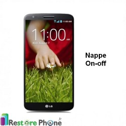 Reparation nappe on/off LG G2