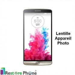 Reparation lentille appareil photo LG G3
