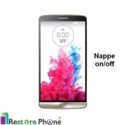 Reparation nappe on/off LG G3