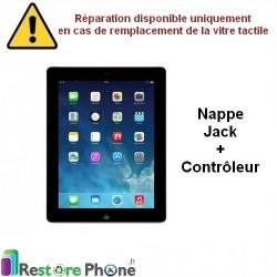 Reparation Nappe jack + controleur iPad 3 et 4