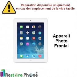 Reparation Appareil photo frontal iPad 3