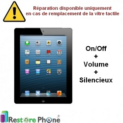 Reparation Nappe on/off + volume + silencieux iPad 2
