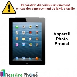 Reparation Appareil photo frontal iPad 2