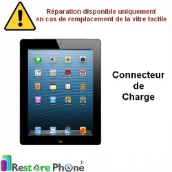 Reparation Connecteur de charge iPad 2
