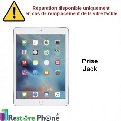 Reparation nappe jack iPad Air
