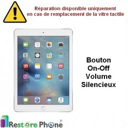 Reparation nappe on/off + volume iPad Mini/iPad Air