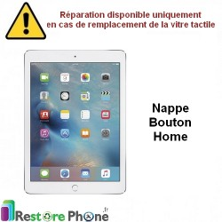 Reparation Nappe bouton home iPad Air