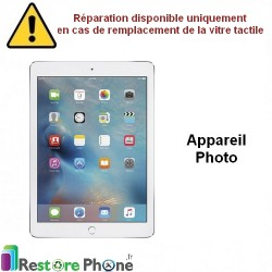 Reparation appareil photo arriere iPad mini 1/2/3 et iPad Air