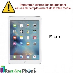 Reparation nappe micro iPad Air