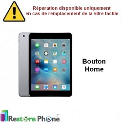 Reparation nappe bouton home + bouton iPad mini 3