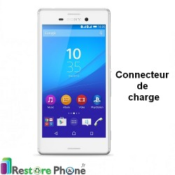 Reparation Nappe connecteur de charge Xperia M4