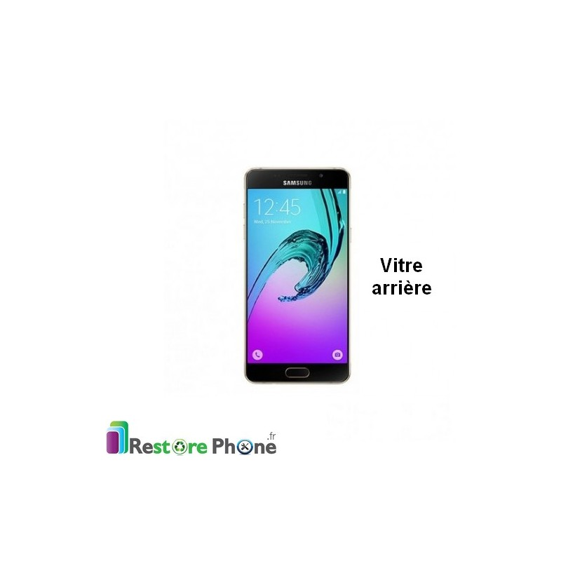 reparation vitre arriere galaxy a5 2016 a510f restore phone. Black Bedroom Furniture Sets. Home Design Ideas