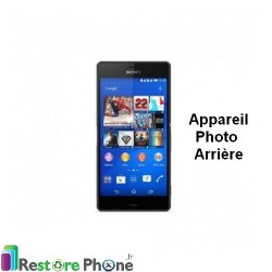 Reparation appareil photo arriere Xperia Z3