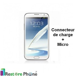 Reparation Connecteur de Charge + Micro Galaxy Note 2 4G