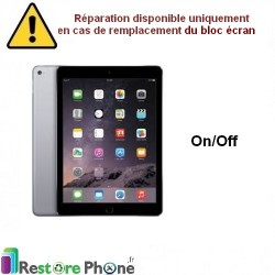 Reparation Nappe on/off iPad Air 2