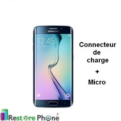 Reparation Connecteur de Charge + Micro Galaxy S6 Edge