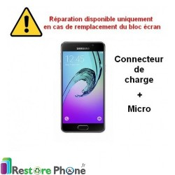 Reparation Connecteur de Charge Galaxy A3 2016