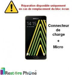 Reparation Connecteur de Charge + Micro Galaxy A5 2016