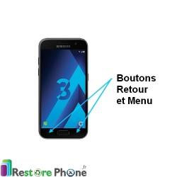Reparation Boutons Tactiles Retour et Menus Galaxy A3 2017 (A320)