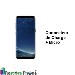 Reparation Connecteur de Charge Galaxy S8