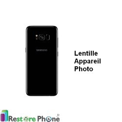 Reparation Lentille Appareil Photo Arriere Galaxy S8