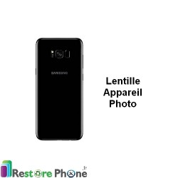 Reparation Lentille Appareil Photo Arriere Galaxy S8+