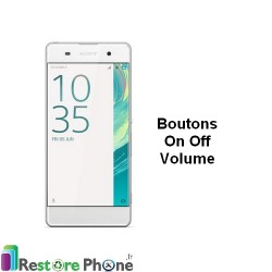 Reparation Bouton On/Off + Volume Xperia XA