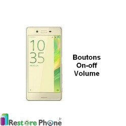 Reparation Bouton On/Off + Volume Xperia X