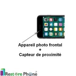 Réparation Appareil Photo Face + Capteur de Proximité iPhone 7 Plus