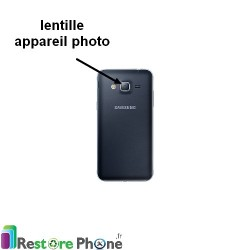 Reparation Lentille Appareil Photo Galaxy J3 2016