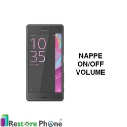 Reparation Nappe On/Off + Volume Xperia X Performance