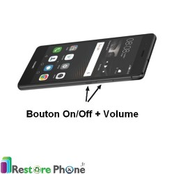 Reparation Nappe On/Off +Volume Huawei P9