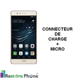 Reparation Connecteur de Charge + Micro Huawei P9