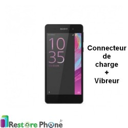 Reparation Connecteur de Charge + Vibreur Xperia E5