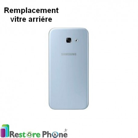 reparation vitre arriere galaxy a3 2017 a320f restore phone. Black Bedroom Furniture Sets. Home Design Ideas