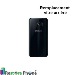 Reparation Vitre Arriere Galaxy S7