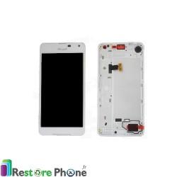 Bloc Ecran avec chassis Lumia 650