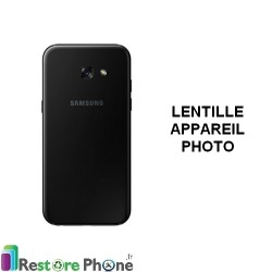 Reparation Lentille Appareil Photo Galaxy A3 2017, A5 2017 ou A7 2017