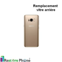 Reparation Vitre Arriere Galaxy S8