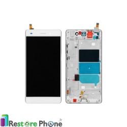 Bloc ecran assemble sur chassis Huawei P8 Lite