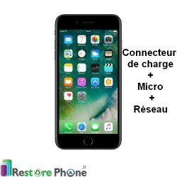 Reparation Connecteur de Charge + Micro iPhone 7 Plus