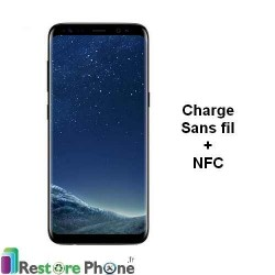 Reparation nappe de charge induction + NFC Galaxy S8 +