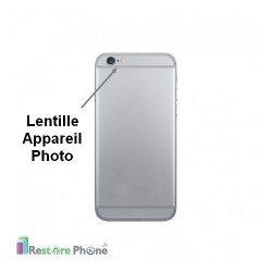 Reparation Lentille Appareil Photo Arriere iPhone 6/6S